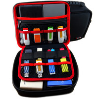 3.5 inch Grote Size Multilayer Digitale Gadget Opbergtas Neopreen Travel Organizer Case Voor HDD, USB Flash Drive, Datakabel,