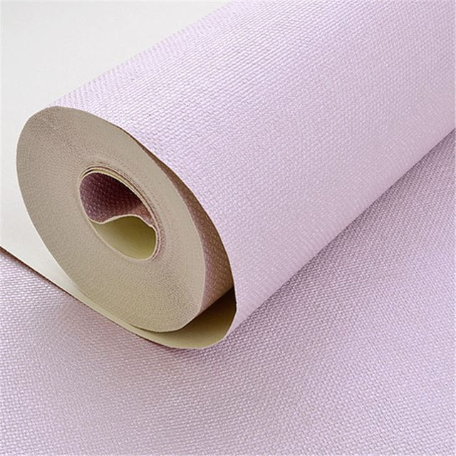 Deep Renovation Modern Purple Background Wallpaper Roll For Living Room Paper Wall Covering Decor Solid Vintage