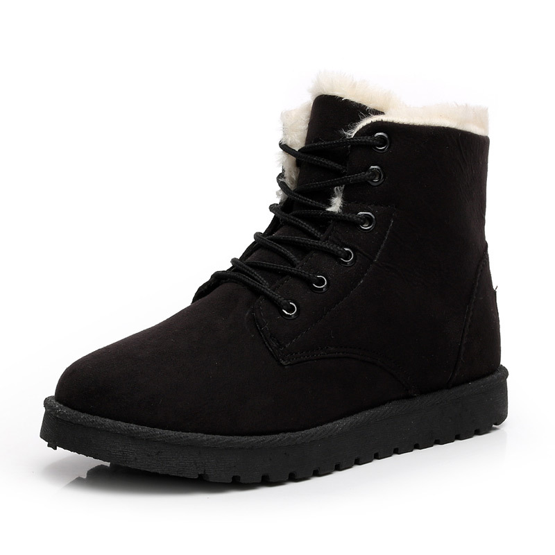 LAKESHI-Winter-Boots-Women-Shoes-Warm-Plush-Women-Snow-Boots-2018-Casual-Ankle-Boots-Lace-Up