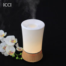 icci Humidifier Essential oil diffuser Aroma diffuser Diffuseur huile essentiel Oil diffuser capacity 150ml with led lamp