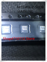 NEW  5PCS/LOT M3SWA-2-50DR MARKING 3SWA QFN IC