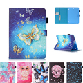 For Samsung Galaxy Tab S2 9.7 inch T810 T815 Owl lion tiger Flip Wallet PU Leather Cover Case For SM-T810 T815 tablet #D