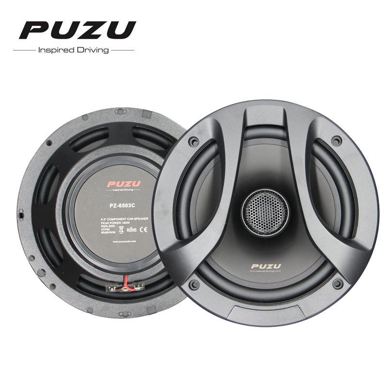 High-end 180W Car 6.5 inch 2 way coaxial speaker Auto Car Mid Bass Audio with tweeter дворники жкх