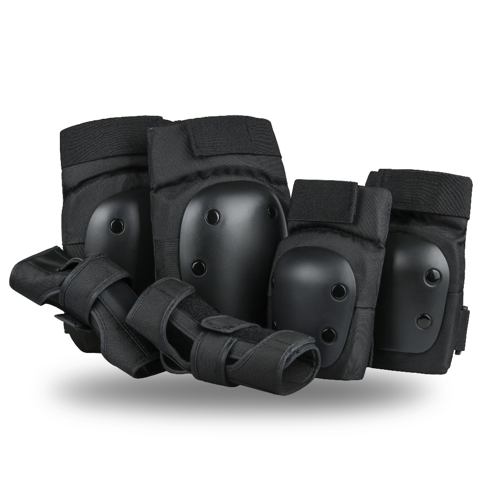 Szblaze Knee Pads Elbows Pads Wrist Guards 3 In 1 Safety  Protective Gear Set For Skateboarding, Inline Roller Skating BMX Bike