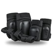 Szblaze Knee Pads Elbows Wrist Guards 3 in 1 Safety  Protective Gear Set For Skateboarding, Inline Roller Skating BMX Bike