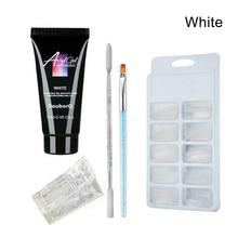 5Pcs/ Set Poly Gel Kit UV Acryl Builder Polygel Fast Dry