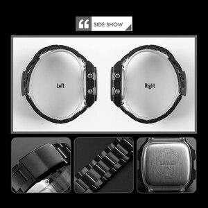 Image 5 - 2019 Top Brand SKMEI Women Men Digital Watch Luxury Calorie Compass Electronic Watch Fashion Sport Bracelet LED dispiay Clock