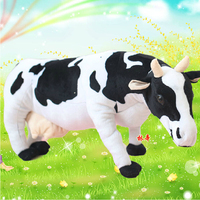 Children's day gifts New Simulation Cow Plush Toy Activity gifts Stuffed Doll Size 45cm