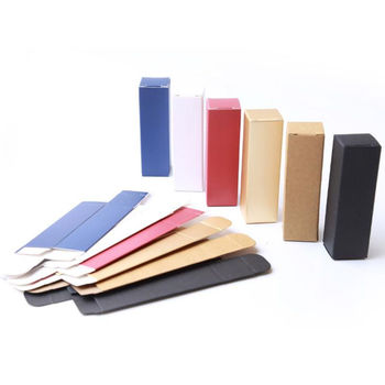 Colorful Paper Lipstick Paperboard Packaging Boxes Wedding Birthday Party Packing Pack Box F115