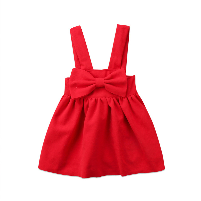 New Style Christmas Toddler Kids Baby Girls Skirt Princess Party Formal Skirt Suspender Clothes puseky vestido princesa 2 pcs set cute kids baby girls clothes minions minnie party dress vest skirt toddler clothes 1 6y