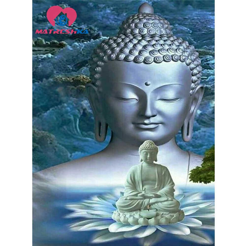 Алмазная вышивка Будда Алмазная вышивка распродажа наборы для вышивки крестиком наборы для рукоделия Алмазная Вышивка Цветы рукоделие