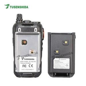 Image 5 - חם למכור 5 w 128 ערוצים VHF מכשיר קשר 66 88 mhz מקצועי כף יד שתי דרך משדר