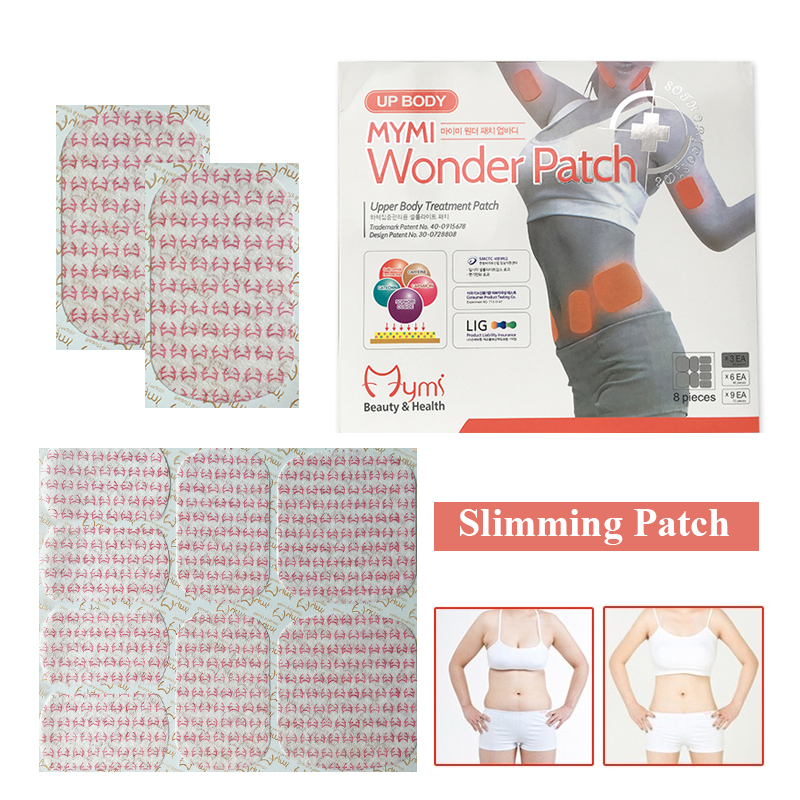 Hot Sale Mymi Wonder Patch Quick Slimming Patch Belly Slim Patch Abdomen Slimming Fat Burning Navel Stick Weight Loss Slimmer