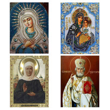 Иконка религиозные сделай сам мозаика площади алмаз вышивка хрусталь живопись горный