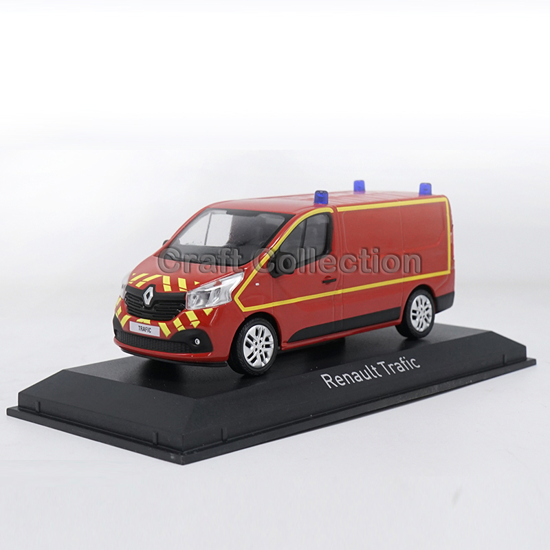 1: 43 Renault Trafic Rescue Car Alloy Model Diecast Cars Brinquedos Car Replica 1 18 otto renault espace ph 1 2000 1 car model reynolds