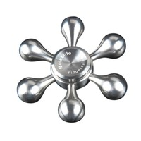 2017 Hand Spinner Stainless Steel Bearing Finger Spinner Metal Kids Adult Funny Anti Stress Gyro Toy