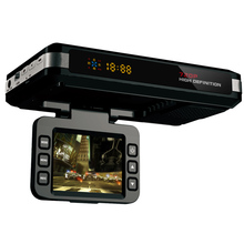 Best Russian 3 in1 Car DVR Camera & Radar Detector STR8500 Car DVR video Camera 720P lens 150 Degree View Angel GPS Logger