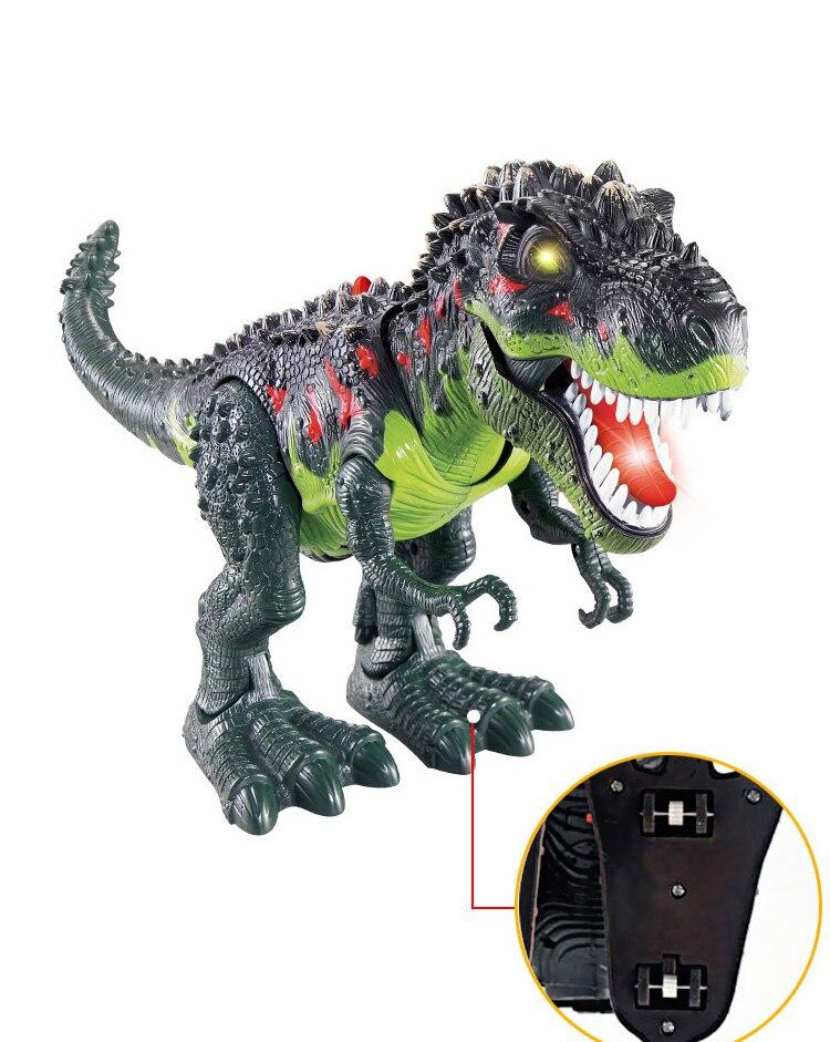 48CM Robô Dinossauro Tiranossauro Dragão Eletrônico Brinquedo