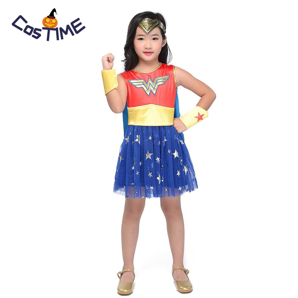 Wonder Woman Childs Costume Super Dc Heroes Roleplay -9881