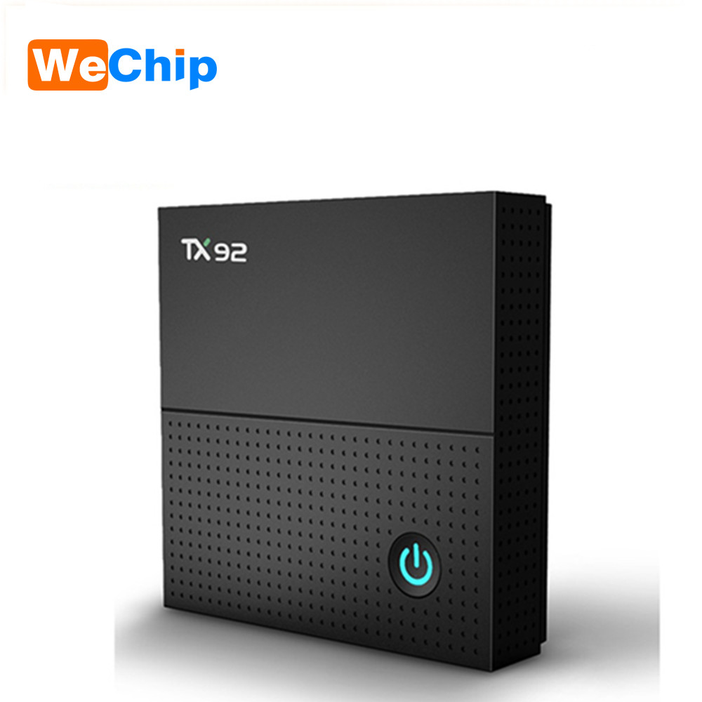 TX92 Amlogic S912 Octa core Smart Android 7.1 TV Box Octa Core 3G/32G 1000M LAN Dual Wifi Stalker IPTV BT 4.1 PK X92 T95z plus genuine sunvell t95z plus android smart tv box amlogic s912 octa core 4kx2k 2 4g 5g dual band wifi set top box