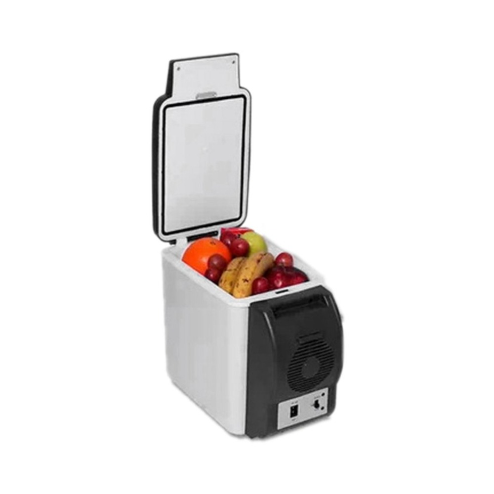 Portable Size Multifunctional 6L 12V Car Fridge Outdoor Travel Refrigerator Automobile Cooler Freezer Icebox Cooler
