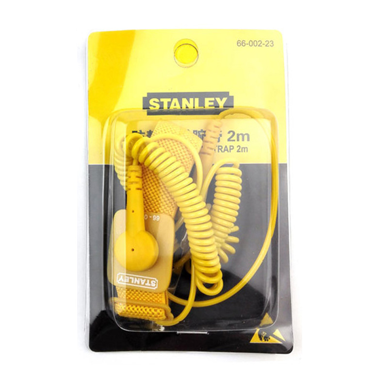 Stanley Adjustable Clean Room Antistastic Wrist Strap Esd Wrist Band Anti-static Belt Anti Static For Mobile Repairing Dust Free Back To Search Resultstools