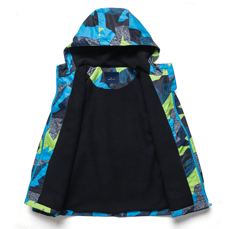 Image 4 - 2020 Children Jackets Polar Fleece Spring Children Outerwear Warm Sporty Kids Clothes Waterproof Windproof Boys Tops For 3 12Tchildren outerwearchildren jacketswaterproof boys -