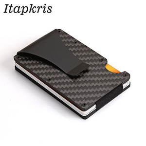 Itapkris Men Women Credit Card Holder Rfid Wallet ID Case