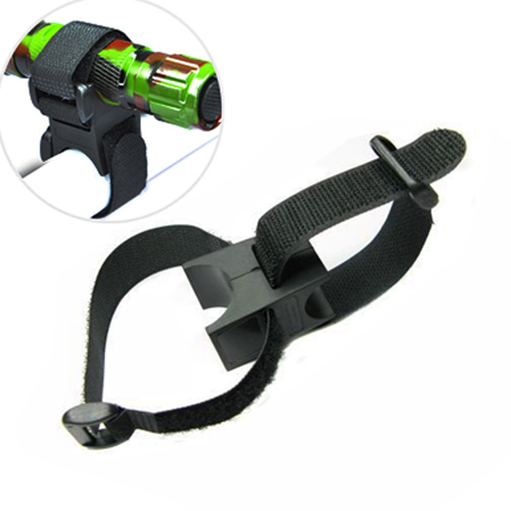 New Universal Bicycle Flashlight Torch Handle Bar Holder Mount Clamp Mounting