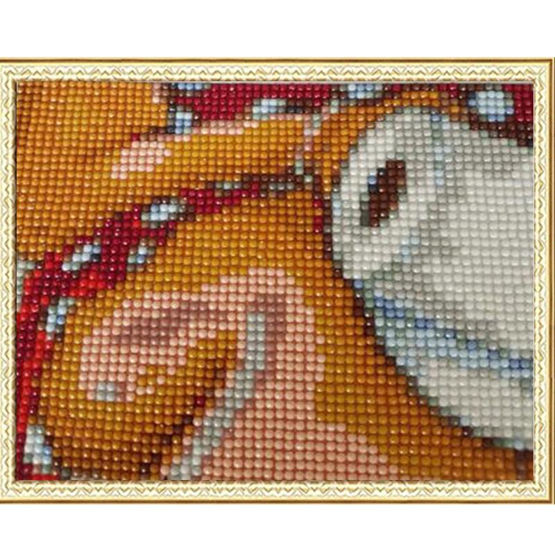 Novo prispe 5D DIY diamantno slikarstvo Mona Lisa vezenje polno - Umetnost, obrt in šivanje - Fotografija 5