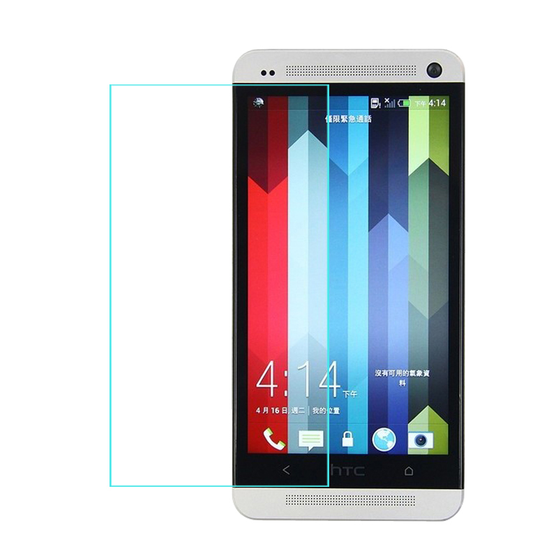 For HTC One M7 Tempered Glass Original 9H 2.5D Protective Film M 7 801S 801E 801N 801D 802T 802D 802W Dual Sim Screen Protector
