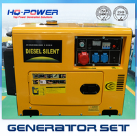 mini size huaquan brand 8kva 8hp silent diesel engine generator for home use