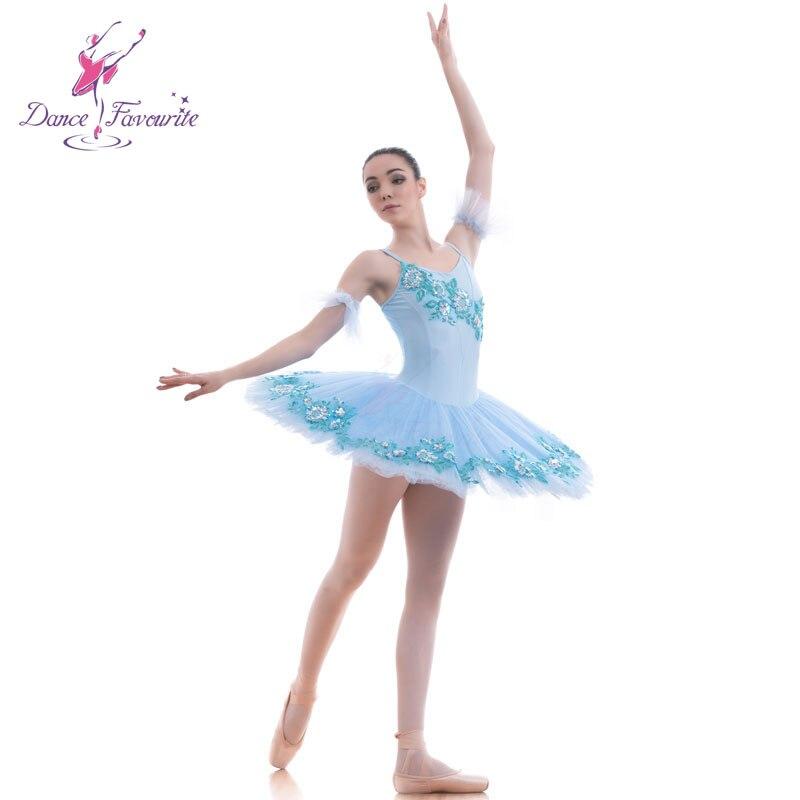 d675947e7d20d Blue Girls ballet tutu women Ballet dress for ballerina Pancake platter  tutus professional ballet costumes Bll0025-in Ballet from Novelty & Special  Use on ...