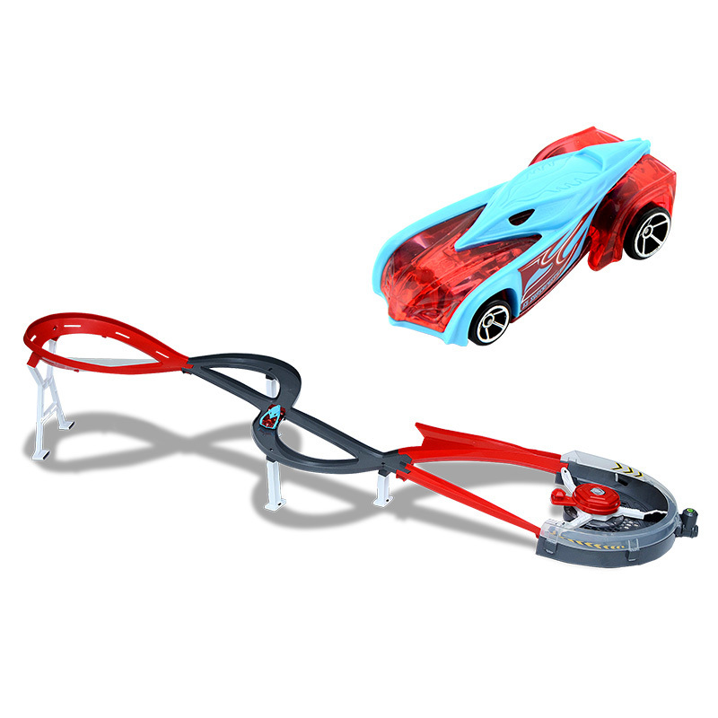 Image 2 - Hot Wheels Roundabout Track Toys Model Cars Classic Toy Car Birthday Gift For Children Pista Hotwheels Juguetes W5093-in Diecasts & Toy Vehicles from Toys & Hobbies