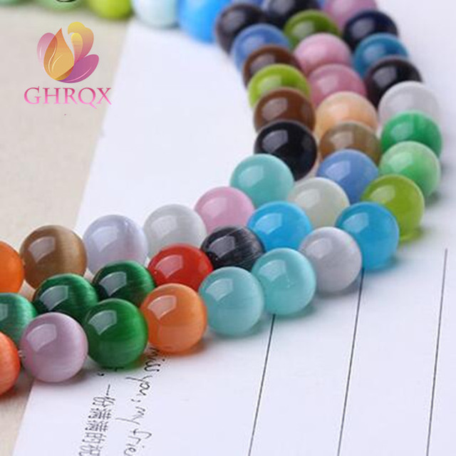 6/810mm Colorful opal beads DIY Beads DIY making Jewelry fittings