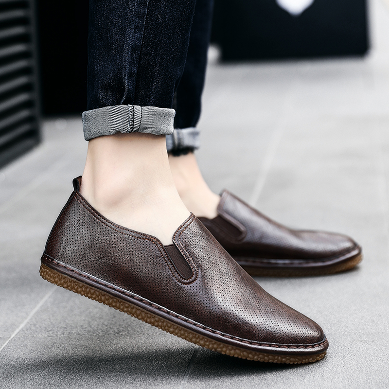 Moccasins Summer Men Casual Shoes Breathable Flats Luxury Brand Men Espadrilles Designer Fashion Slip on Microfiber Shoes Man 5 cheerlux cl740 wt mstar lcd home theater projector w led analog tv vga ypbpr hdmi white