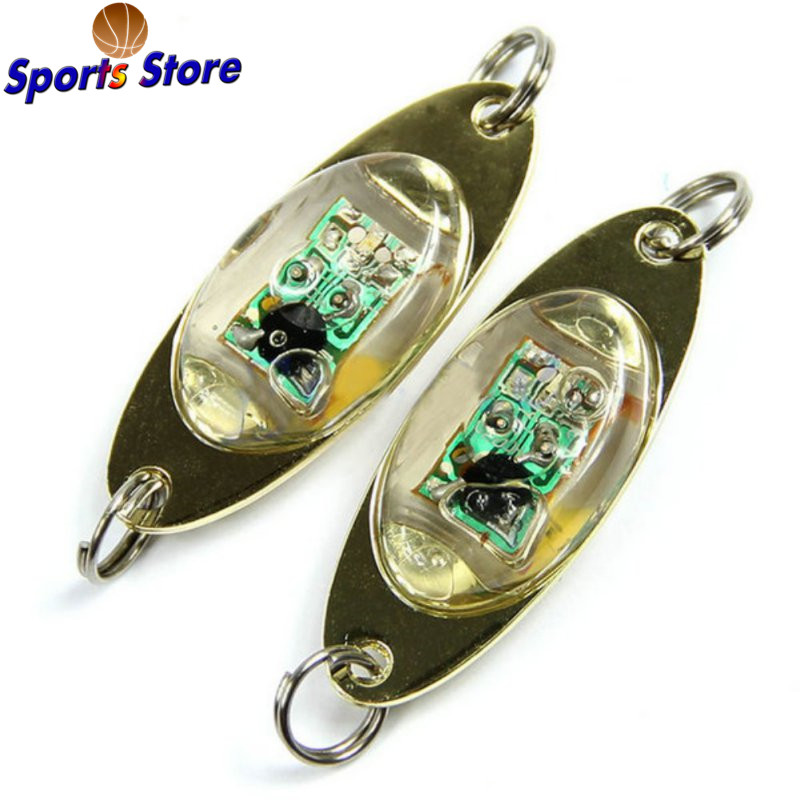 1Pcs LED Deep Drop Underwater Eye Fish Attractor Lure Light Flashing Lamp 9282