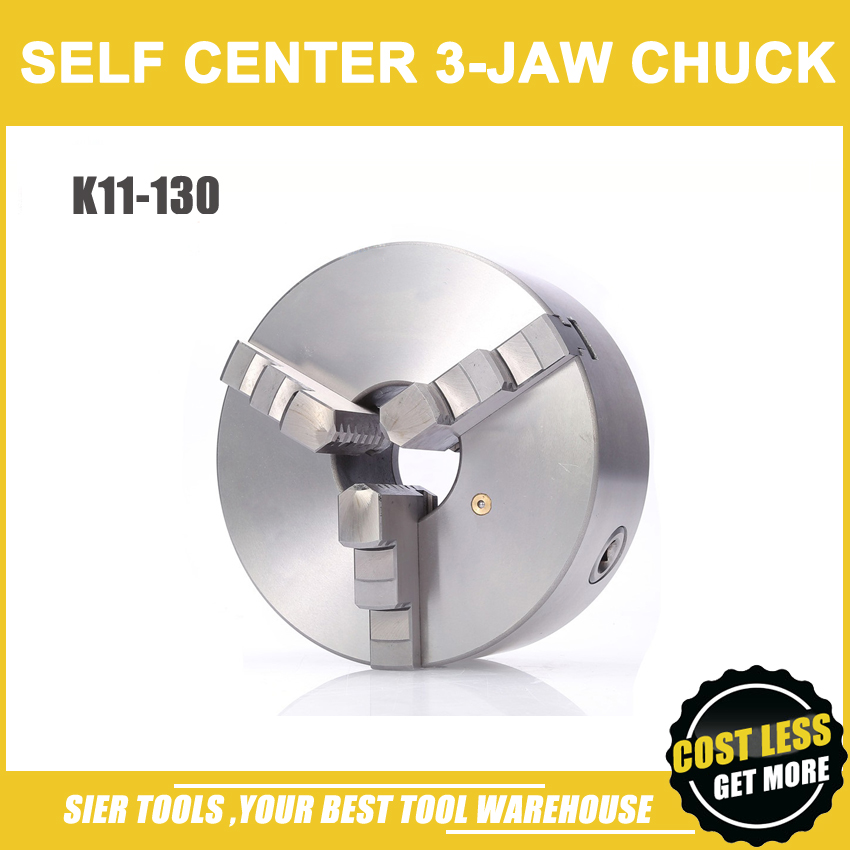 K11 130 3 jaw chuck 130MM manual lathe chuck 3 Jaw Self centering Chuck
