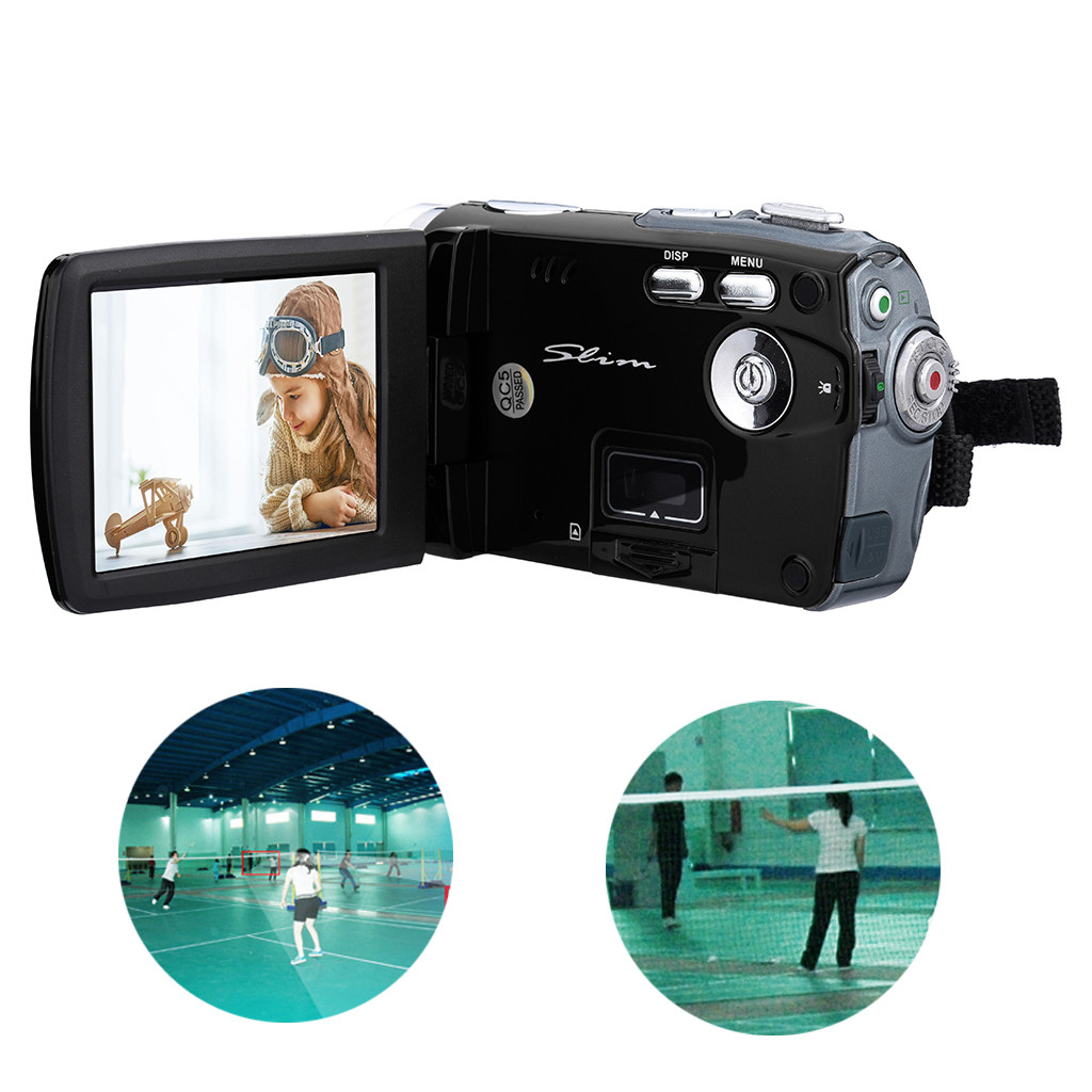 HD 720P 3.0 inch Video Camcorder Handheld Digital Camera 16X Digital Zoom DV Video Recorder Digital Camera Memory media SD/SDHC 1
