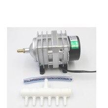 Hailea ACO 208 308 318 кислорода насос высокого Мощность AC Электромагнитная воздушный насос пруд кислорода насос компрессор
