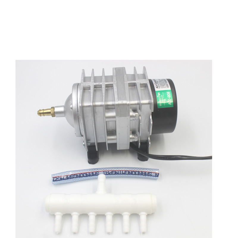 Hailea ACO 318 308 208 bomba de oxígeno de alta potencia AC bomba de aire electromagnética estanque de peces bomba de oxígeno compresor