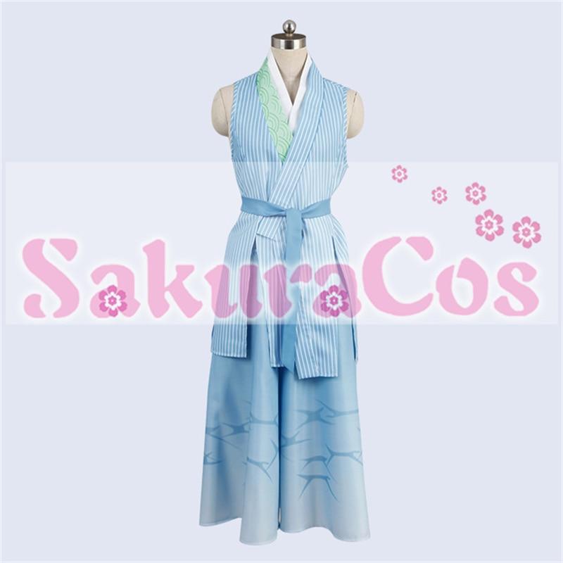 Touken Ranbu Chiyoganemaru Cosplay Costume Full Set All Sizes Custom made COSYT