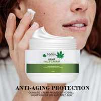 Aceite de semilla de cáñamo orgánico Natural vitamina C vitamina E hidratante Facial cuidado de la piel antiarrugas