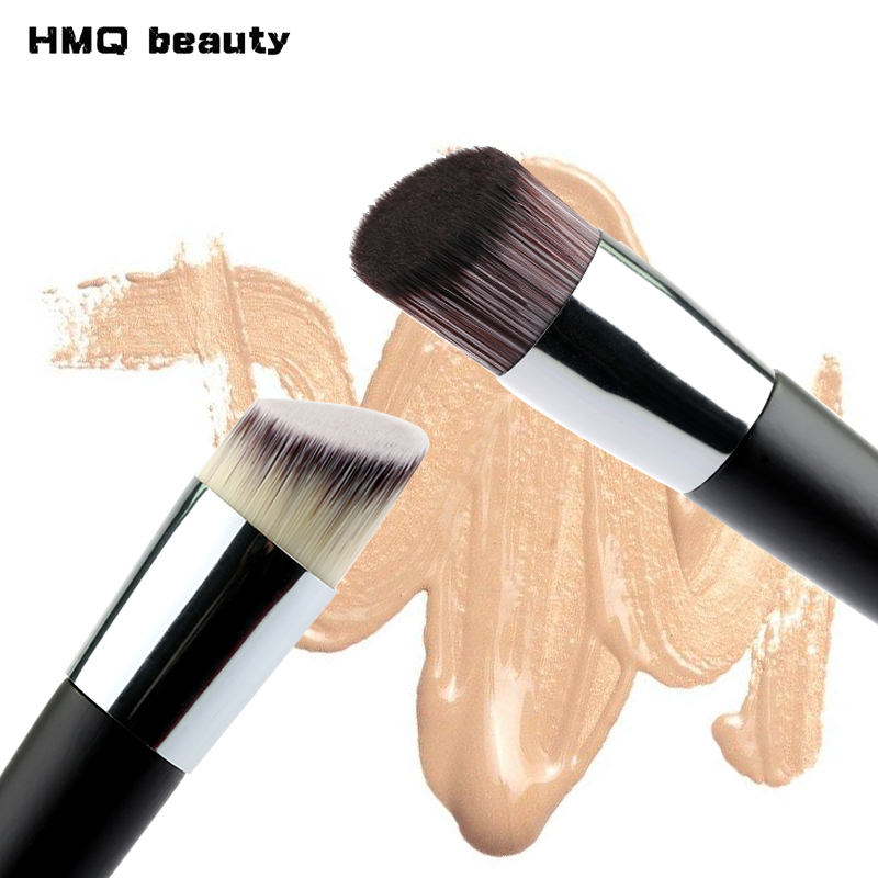 1PCS Oblique Head Foundation brush Powder Concealer Liquid Foundation Face Makeup Brushes Tools Professional Beauty Cosmetics fulljion 1pcs oblique head blush brush multi function foundation powder makeup brushes cosmetics tools wood handle 7 colors