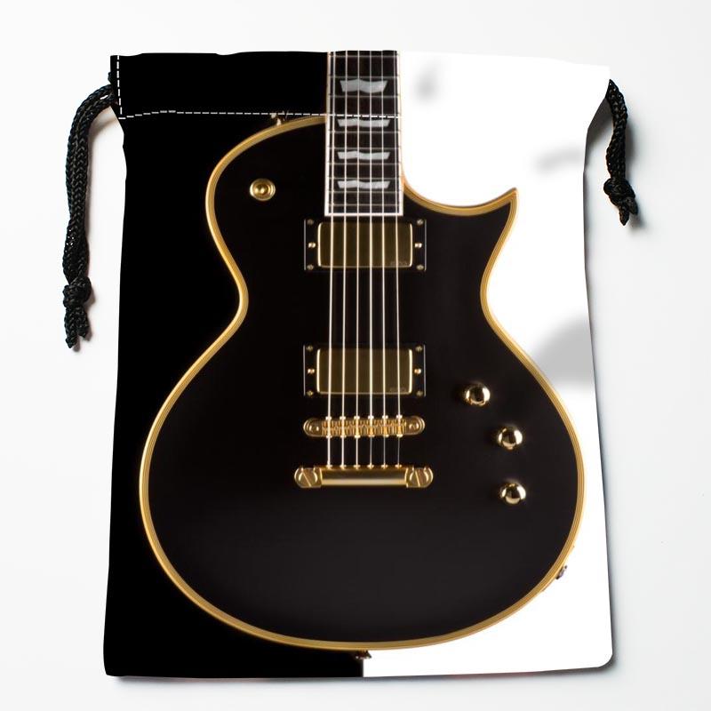 Custom Guitar Drawstring Bags Custom Printed gift bags More Size 27x35cm Compression Type Bags