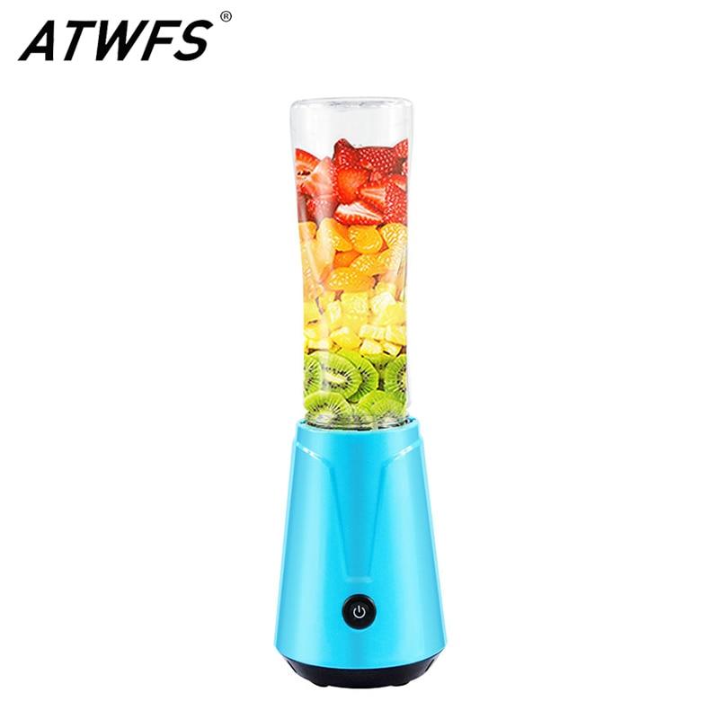 Соковыжималка ATWFS, портативная соковыжималка для фруктов