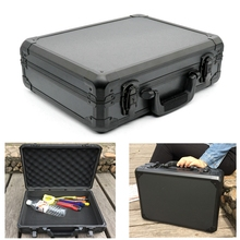 Portable Aluminum Tool Box Impact Resistant Safety Case with Pre-cut Foam Lining стоимость