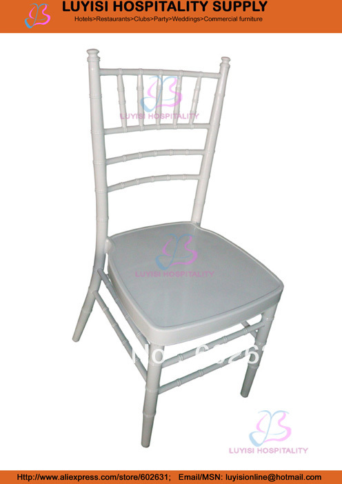White Aluminum Tiffany Chair