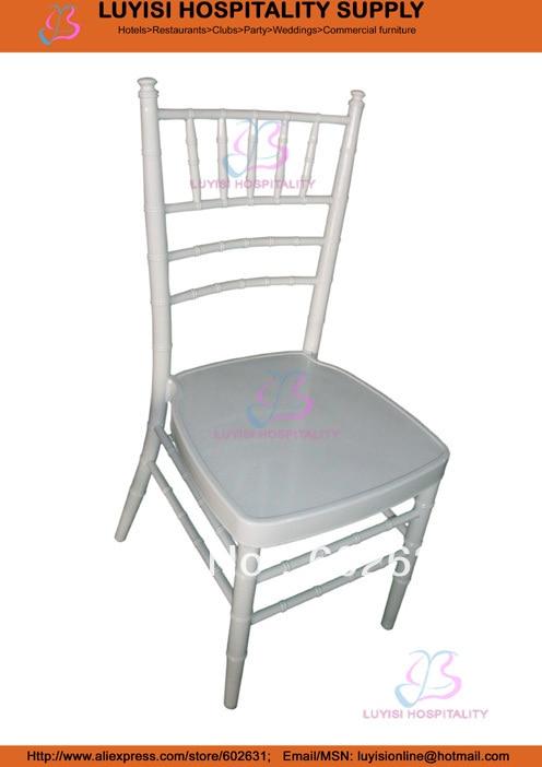 White Aluminum Tiffany Chair