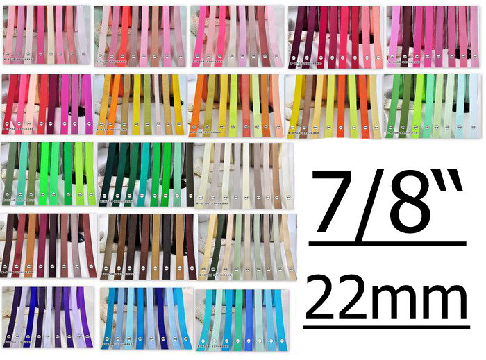 """[IuBuFiGo] 7/"""" 22 мм корсажная лента 22 мм банты упаковочные ленты набор для шитья 100 ярдов/партия"""